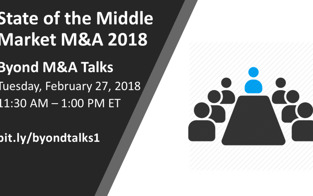 State of the Middle Market M&A 2018