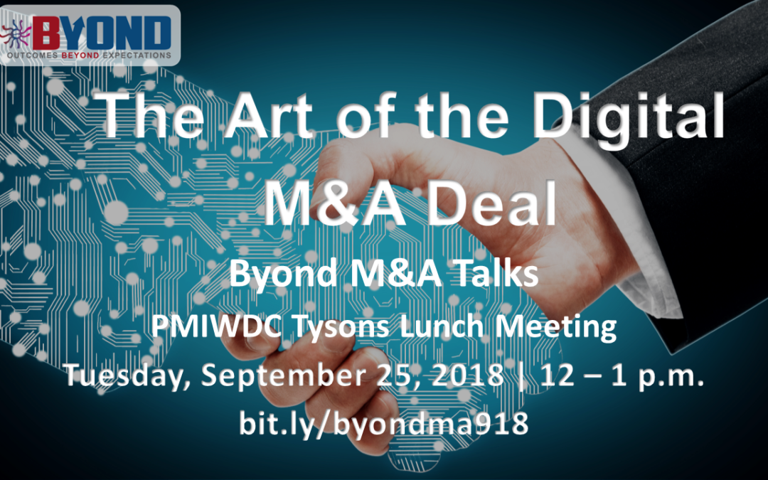 Byond M&A Talks: The Art of the Digital M&A Deal