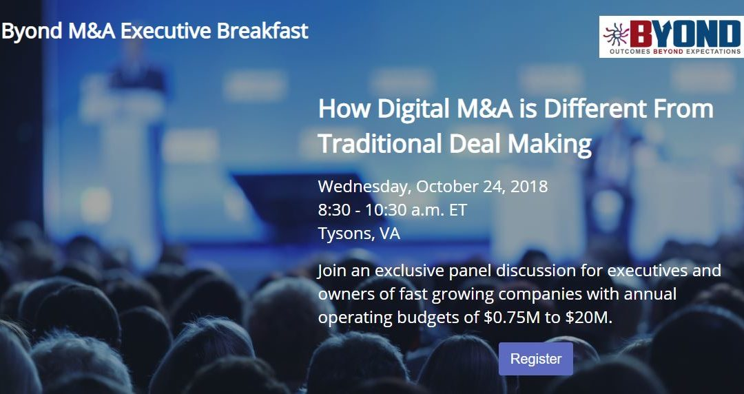 Byond M&A Talks: How Digital M&A is Different from Traditional Deal Making