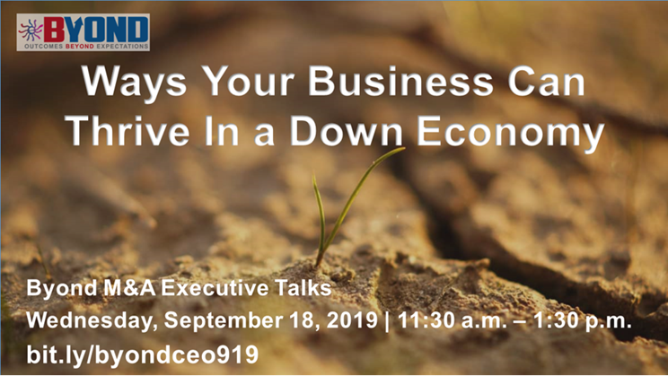 Ways Your Business Can Thrive In a Down Economy